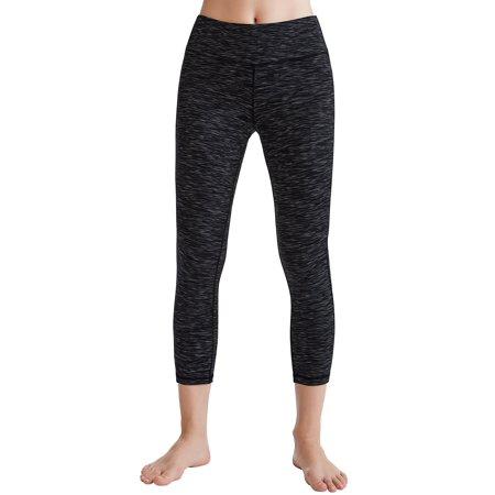 9b5a709f0632c Oalka - Oalka Women's Yoga Capris Power Flex Running Pants Workout Leggings-X-Large  - Walmart.com