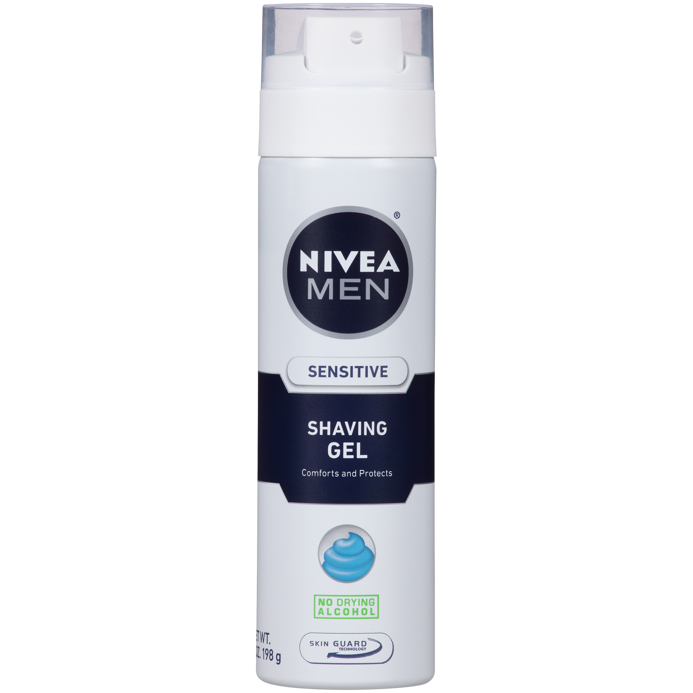 Nivea For Men Sensitive Skin Shaving Gel, 7 oz - Walmart.com