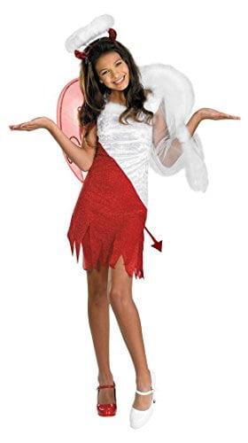 Sassy Scene Heavenly Devil Deluxe Tween Costume, Large (10-12) by