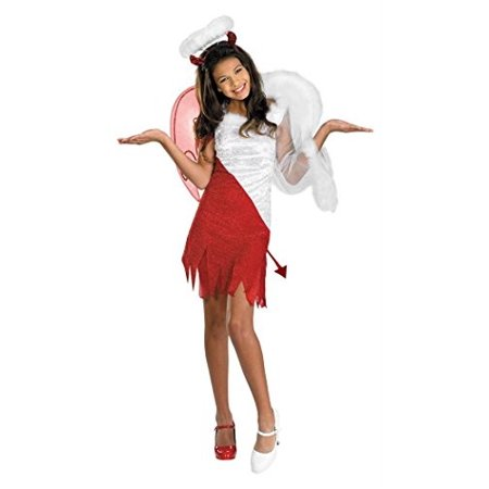 Sassy Scene Heavenly Devil Deluxe Tween Costume, Large (10-12)](Crime Scene Costume)