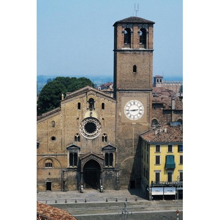 Cathedral Basilica of Assumption, 12th-13th Century, Lodi, Lombardy, Italy Print Wall Art ()