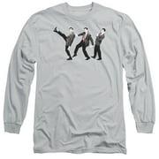 Mr Bean Walk Like A Bean Mens Long Sleeve Shirt
