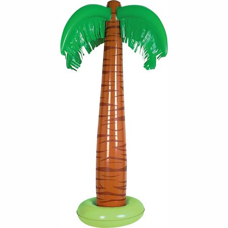 The Beistle Company Inflatable Palm Tree - Palm Tree Decorations For Party