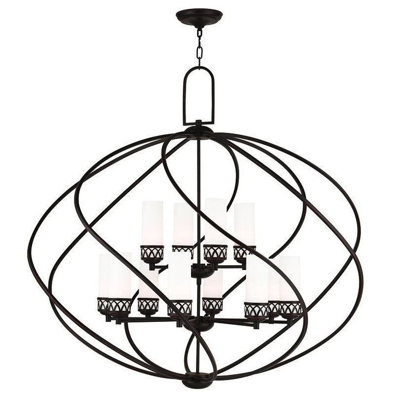 Livex Lighting Westfield 12 Light Candle Chandelier