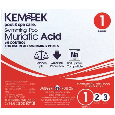 Aqua Chem Clorox Pool 2ga Muriatic Acid