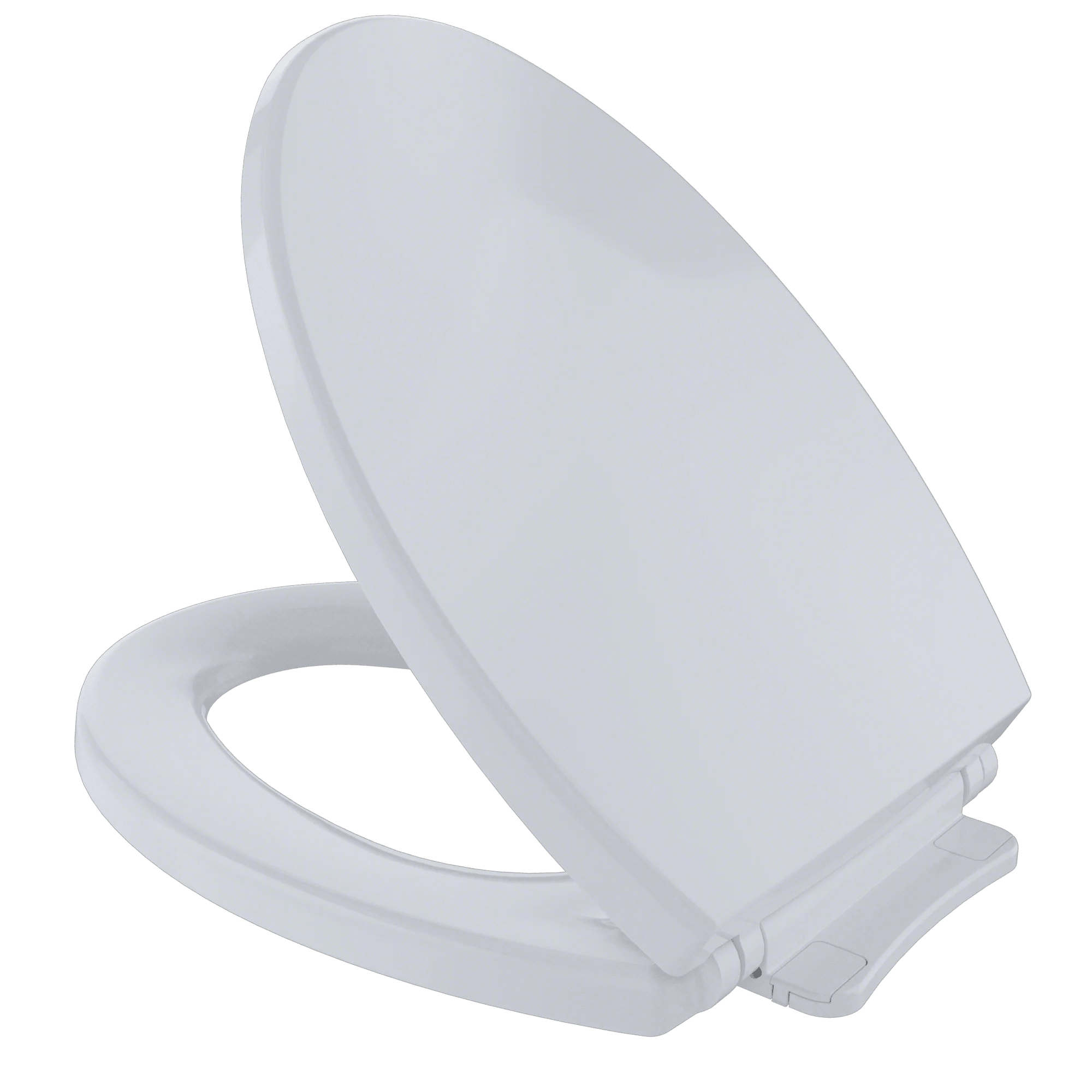 TOTO SoftClose Non Slamming, Slow Close Elongated Toilet Seat and