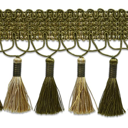 Expo Int'l 10 yards of Jessica Metal Wrapped Fiber Tassel Trim
