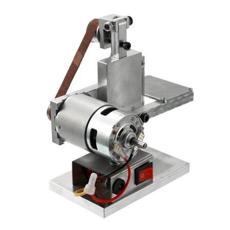 Multifunctional Grinder Mini Electric Belt Sander DIY Polishing Grinding Machine Cutter Edges Sharpener - image 3 of 7