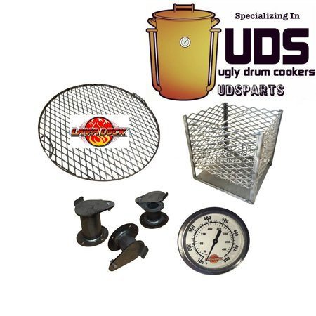 LavaLock UDS Parts Kit (complete) Build your own Ugly Drum Smoker 55 gal