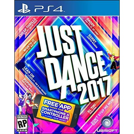 Just Dance 2017, Ubisoft, PlayStation 4, 887256023003