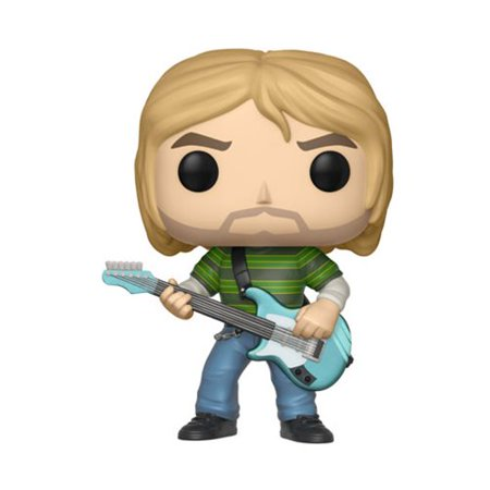 FUNKO POP! ROCKS: NIRVANA - Kurt Cobain (Striped Shirt) (Pop Rocks In Bulk)