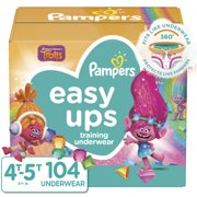 Pampers Easy Ups Girls Training Pants (Choose Size & Count)