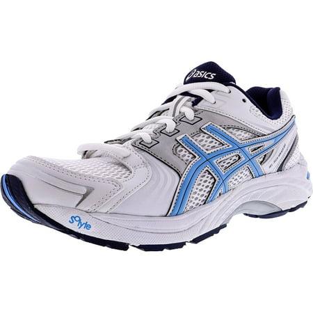 Asics Women's Gel Tech Walker Neo 4 White Periwinkle Ink Ankle High Walking Shoe 9.5M