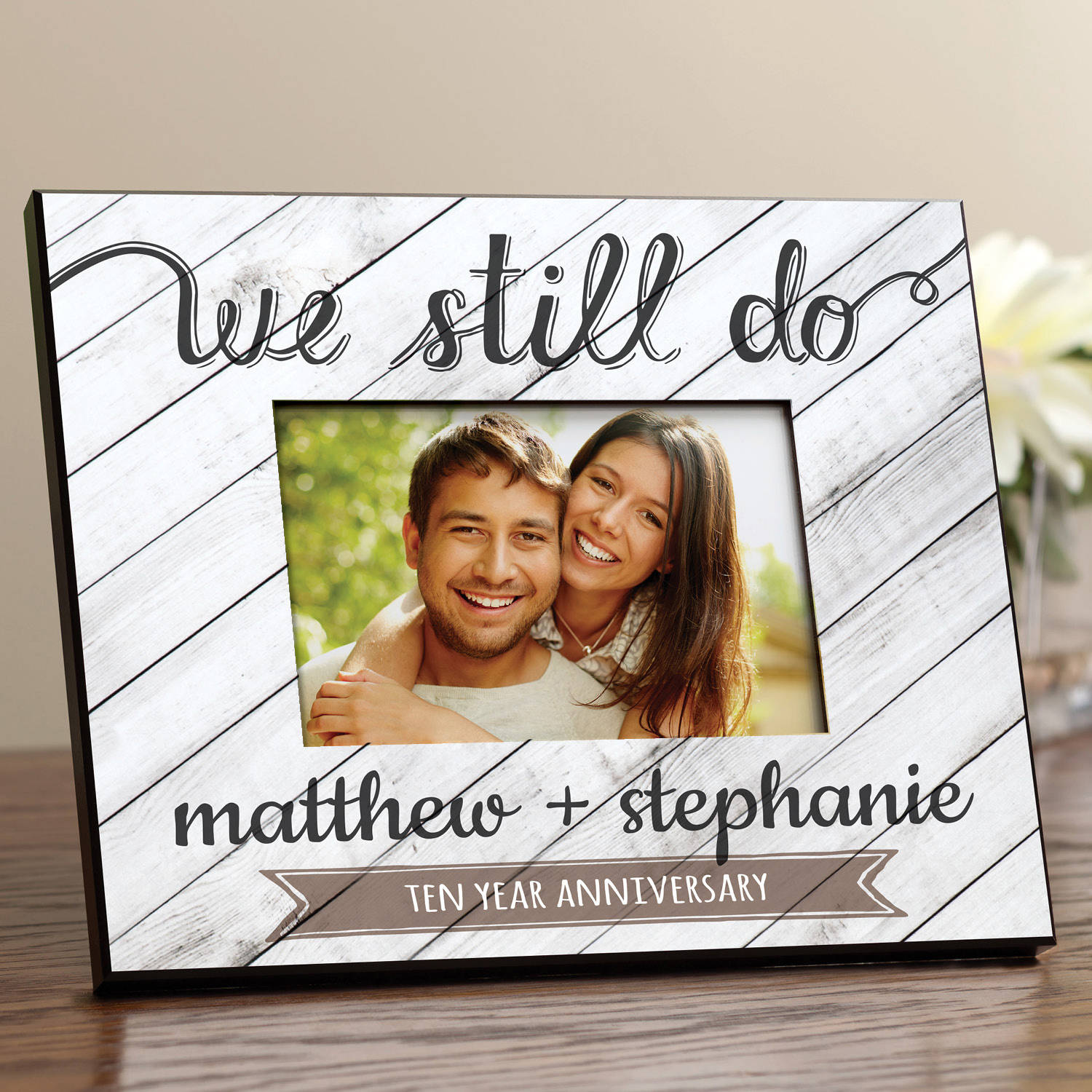 Personalized We Still Do Anniversary Frame