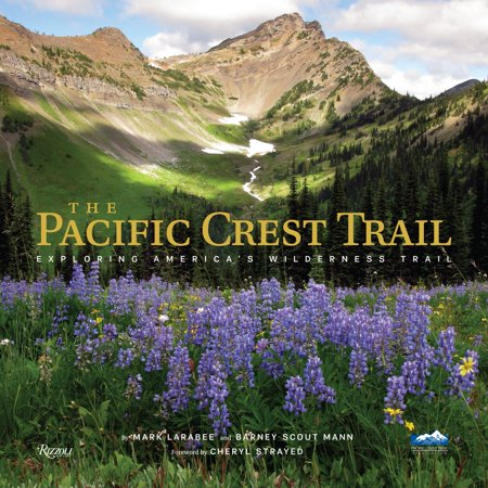 The pacific crest trail : exploring america's wilderness trail: - Wilderness Trail Map