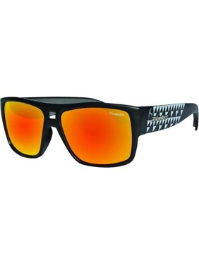b4135faa318 Product Image Bomber Irie Bomb Polarized Floating Sunglasses Matte Black   Red  Mirror Lens (Black