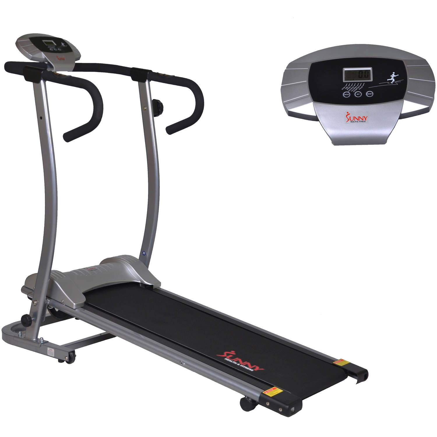 Sunny Health and Fitness SF-T1409M Magnetic Manual Treadmill