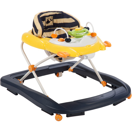 Safety 1st Sound 'n Lights Walker, Nautical Whale Stripe