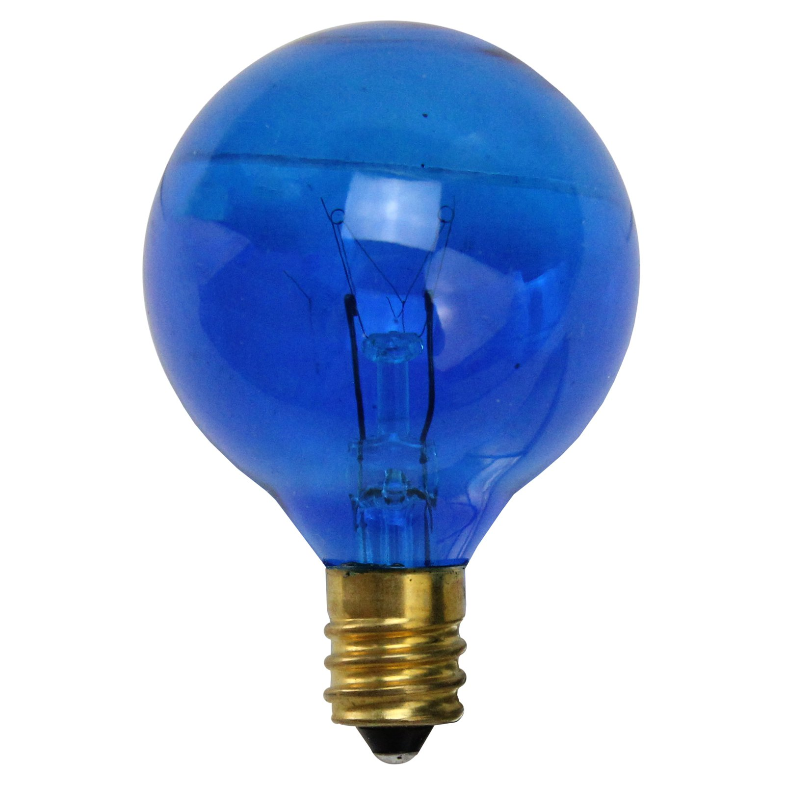 Northlight Incandescent G40 Globe Christmas Replacement Light Bulbs - Set of 25