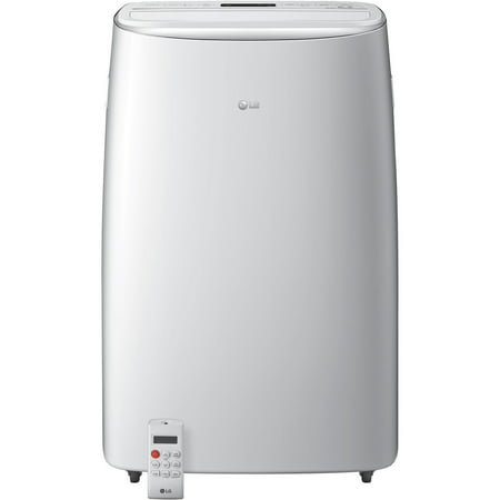 LG 115V Portable Air Conditioner with Dual Inverter Technology in White for Rooms up to 500-Sq.
