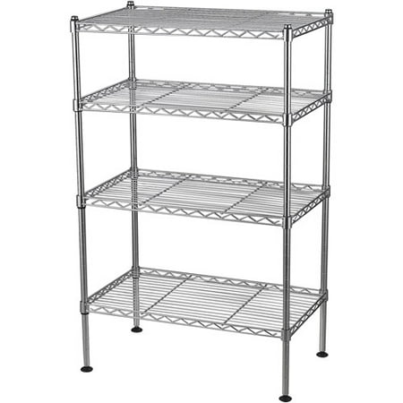Chrome Wire Shelving Post (Muscle Rack 20