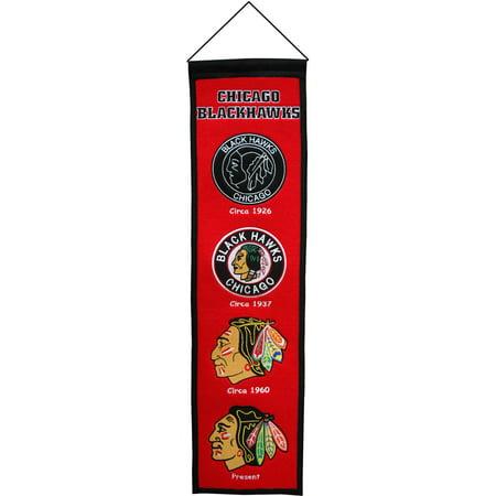 Winning Streak NHL Heritage Banner, Chicago Blackhawks