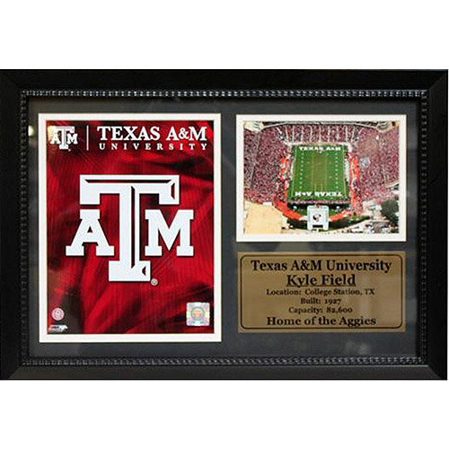 NCAA Texas A&M Photo Stat Frame, 12x18
