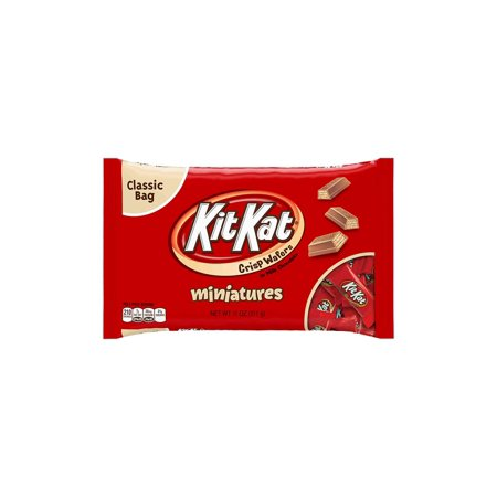 KIT KAT Miniatures Bag, 11 oz, 3 Pack (Kit Kat Halloween)