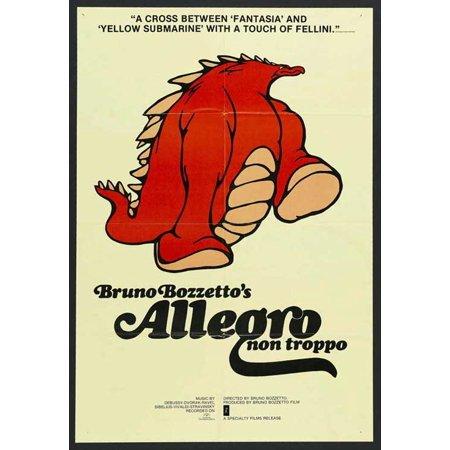 Allegro Single - Allegro non Troppo POSTER Movie (27x40)