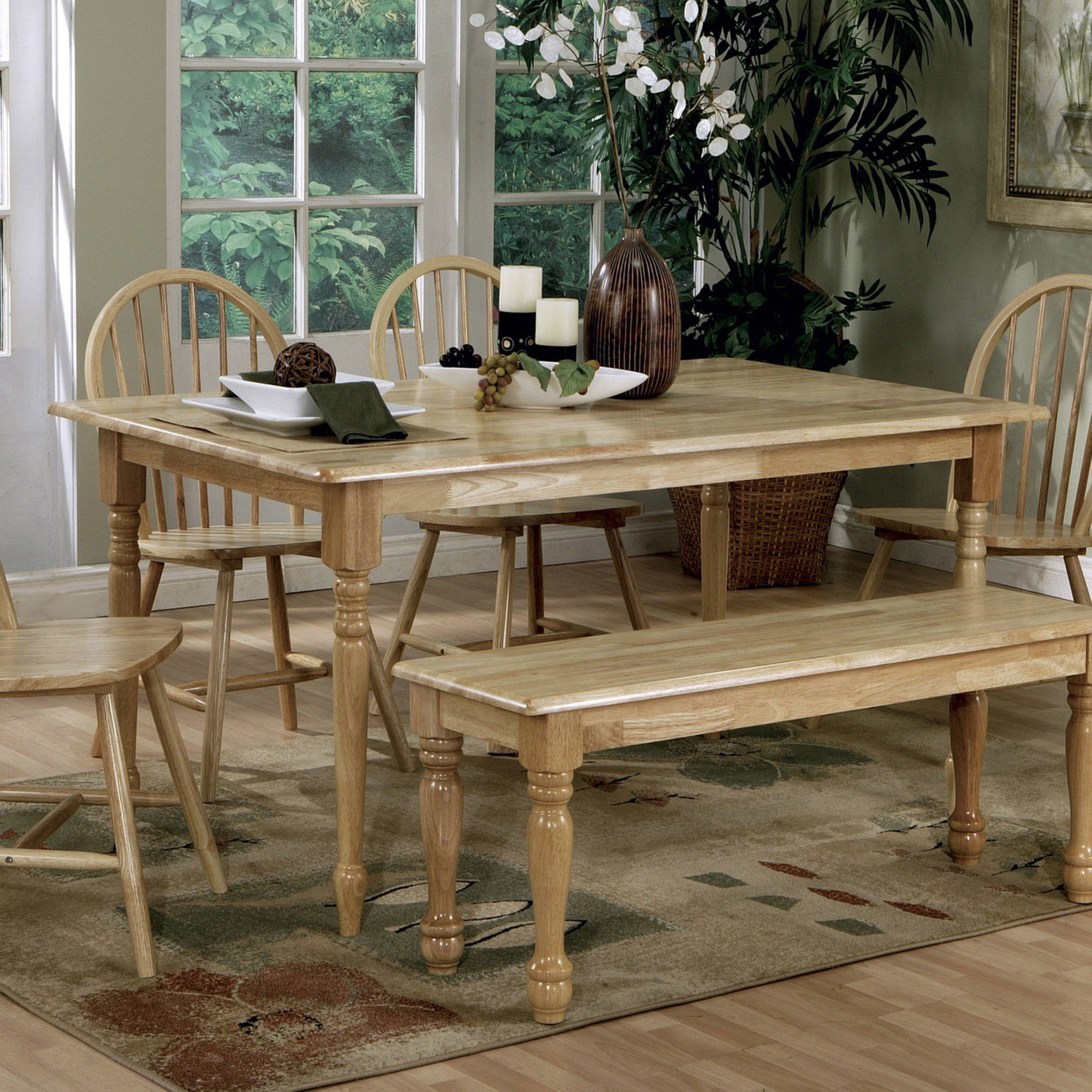 ?Coaster Company Natural Dining Table by Coaster Company