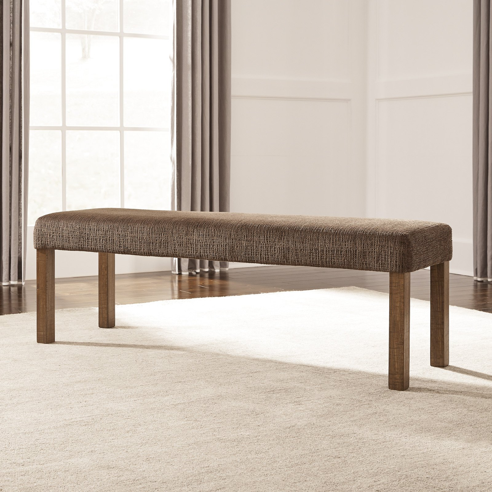 Signature Design By Ashley Tamilo Upholstered Dining Bench