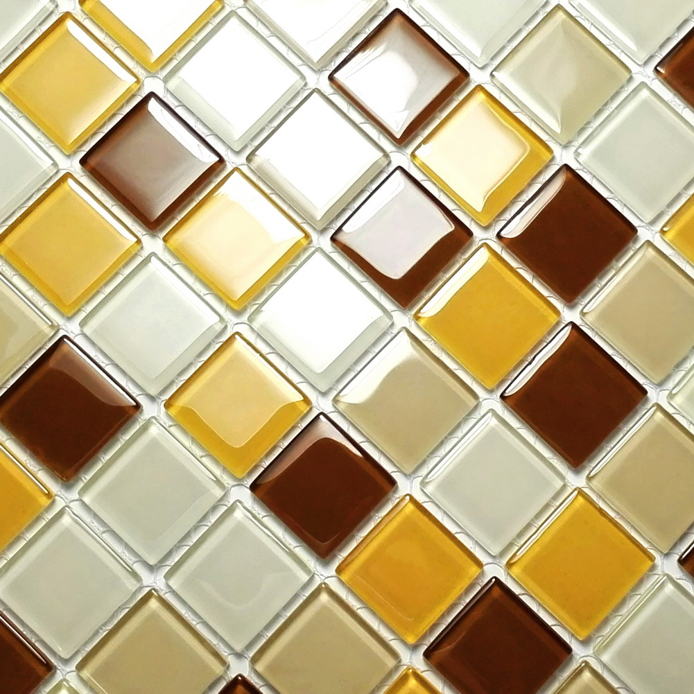 Multicolor Lattice - 3-Dimensional Mosaic Decorative Wall Tile(10PC)
