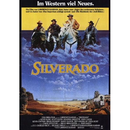 Silverado Movie Poster  11 X 17