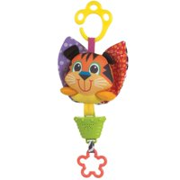Playgro Musical Pullstring Tiger Toy Baby On The Go Toy, Infant and Up