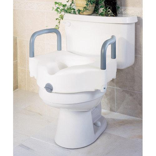 Medline Guardian Locking Raised Toilet Seat