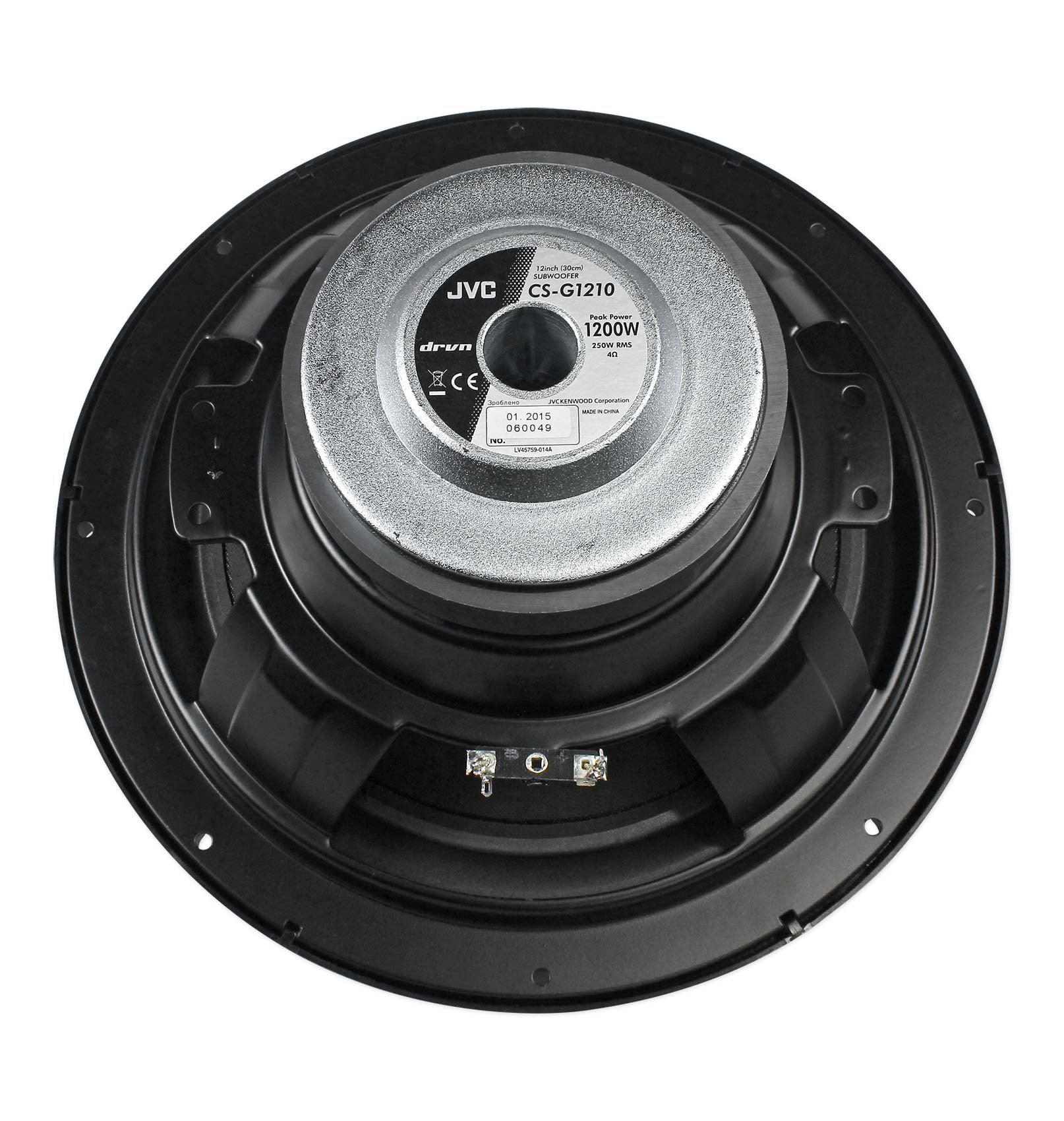 Car Audio (2) JVC CS-G1210 12