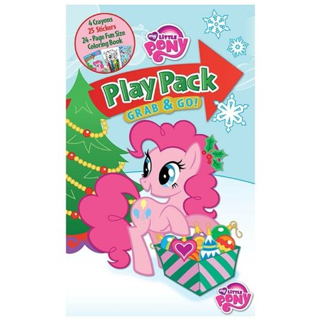 My Little Pony Christmas.Pinkie Pie My Little Pony Grab And Go Play Pack Christmas Party Favors
