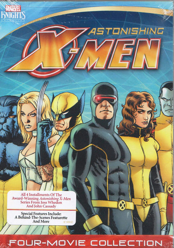 Marvel Knights X-Men Four Films (Dangerous Gifted Torn Unstoppable) by SHOUT! FACTORY