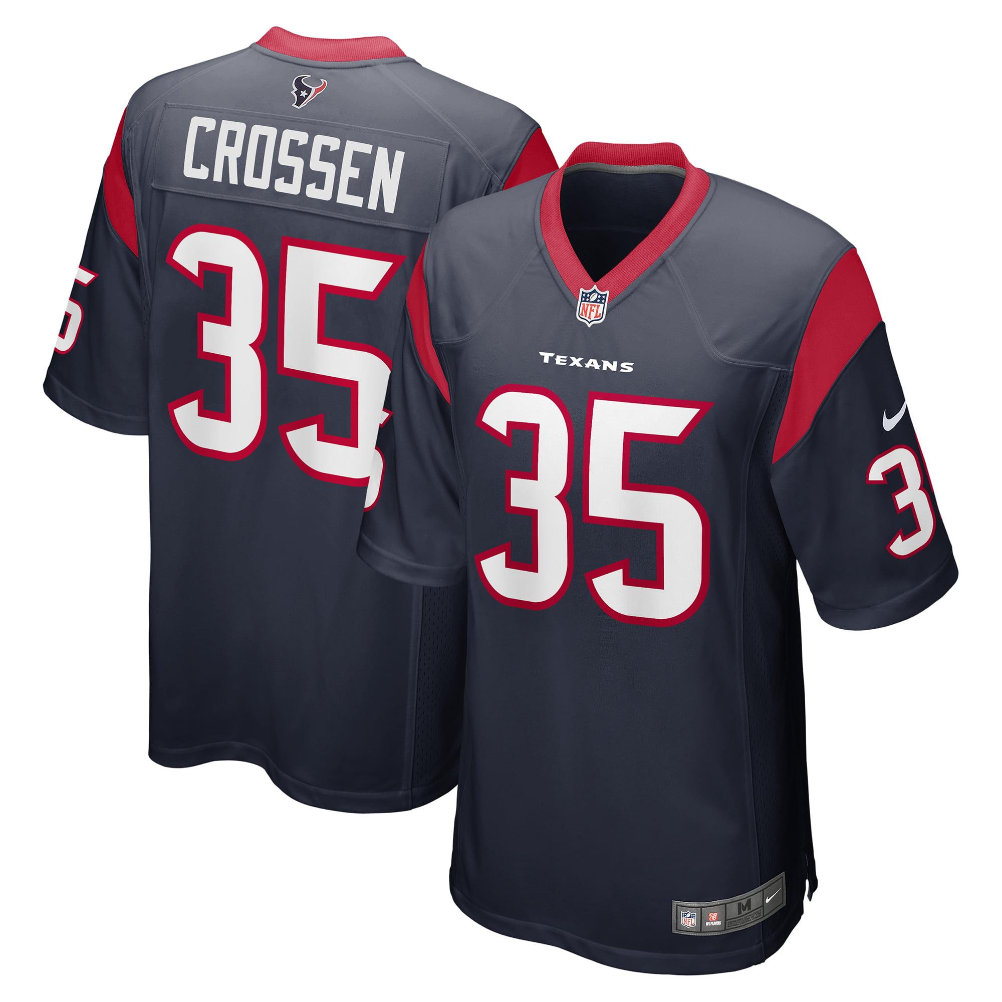 Keion Crossen Houston Texans Nike Game Jersey - Navy - Walmart.com