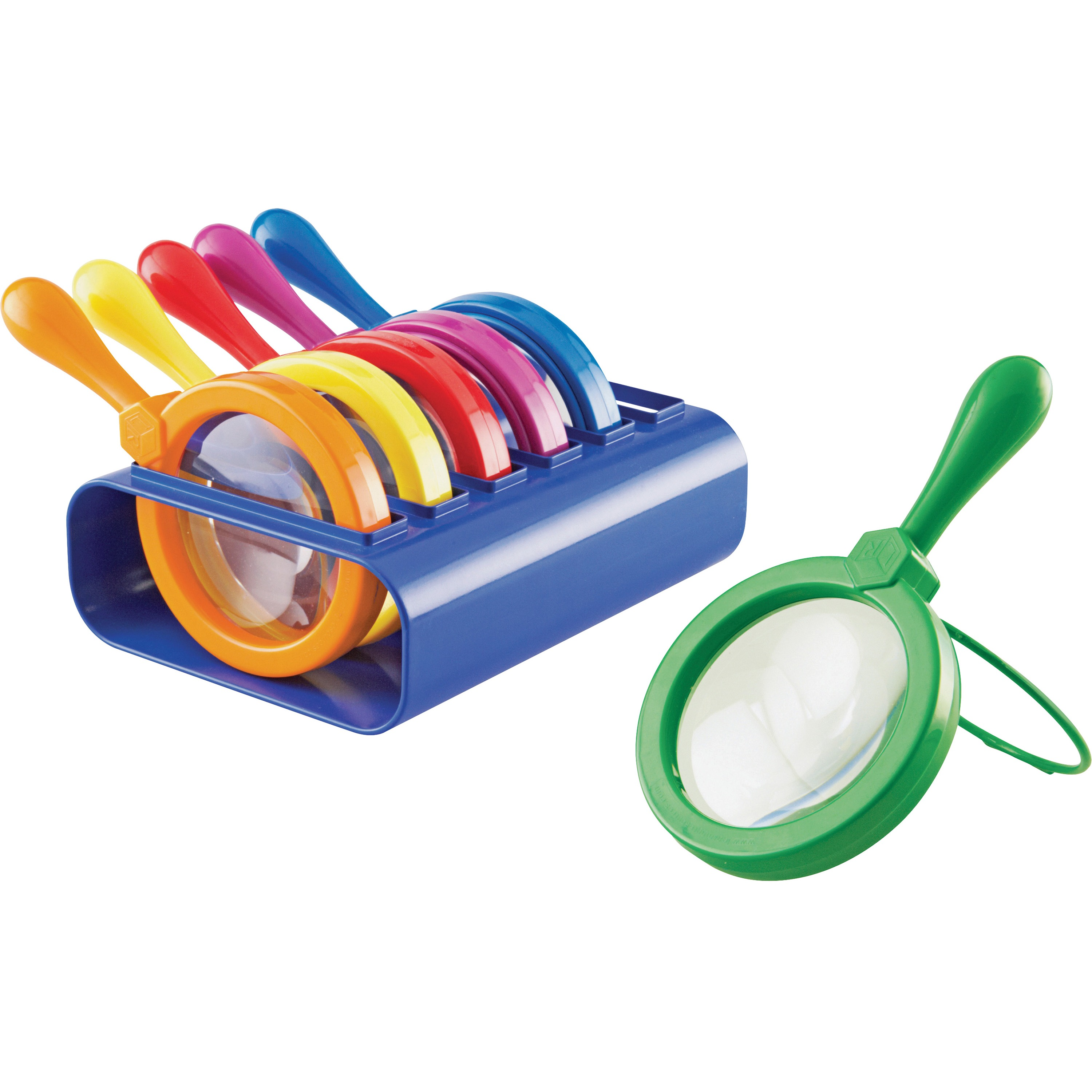 Learning Resources, LRNLER2884, Jumbo Magnifiers Set, 6 / Set