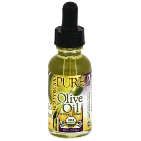 Hollywood Beauty Pure Organic Olive Oil, 1 oz (Pack of 4)