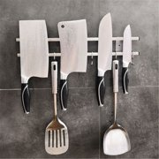 304 Stainless Steel Wall Mount Magnetic Knife Storage Holder Rack Kitchen Tool