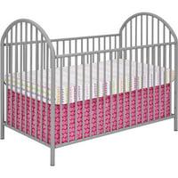 Cosco Prism Metal Crib Gray