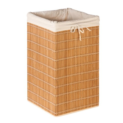Rebrilliant Square Wicker Laundry Hamper