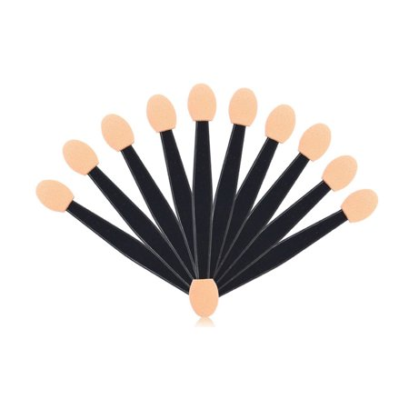 Makeup Brush Applicator (Outtop 10Pcs Makeup Double-end Eye Shadow Eyeliner Brush Sponge Applicator Tool)