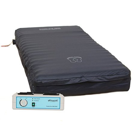 "Protekt Aire 3000 8"" Low Air Loss/Alternating Pressure Mattress System - With a static button"