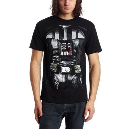 Star Wars Darth Vader Men's Costume T-Shirt, Small (Darth Vadar Costumes)