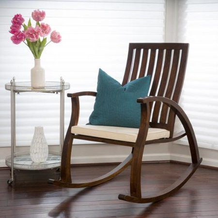 Home Loft Concepts Abraham Rocking Chair with Cushion - Walmart.com