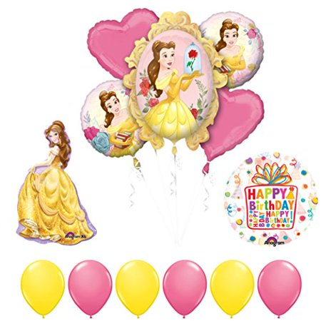 Beauty and The Beast Belle Birthday Party Balloon supplies (Beauty And The Beast Party Food Ideas)