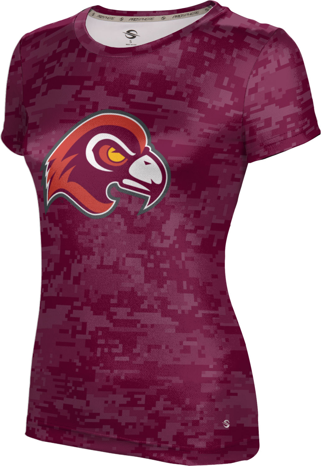 ProSphere Girls' Fairmont State University Digital Tech Tee
